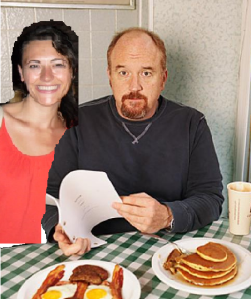 My dinner party with 5 famous people: #2 Louie C.K.