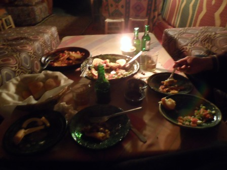 Our bountiful meal