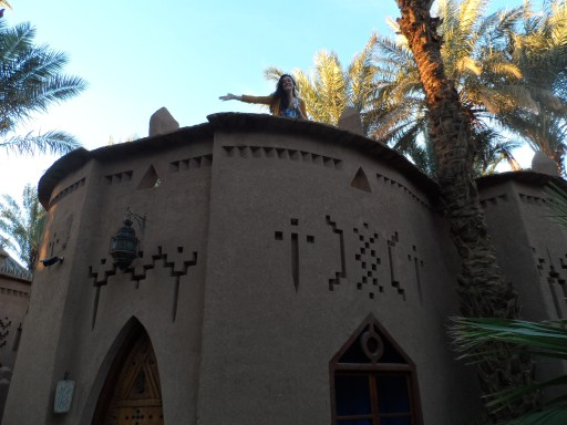 Our private house in the riad