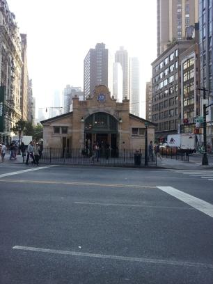 72nd street subway entrance