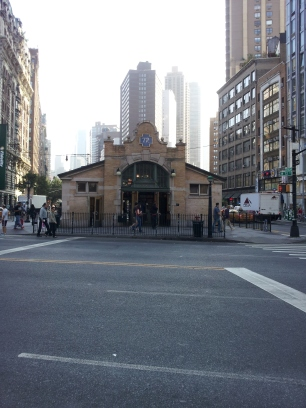 72nd street subway entrance