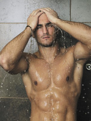 Man-in-Shower